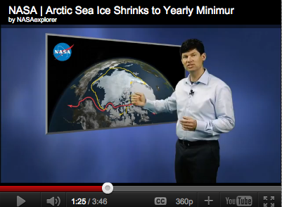 NASA Arctic Ice Research