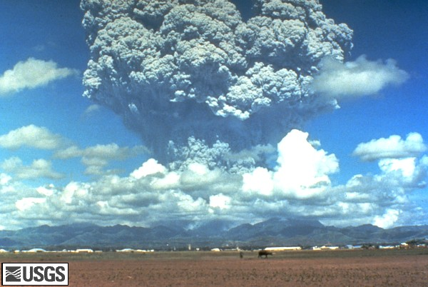 1991 Eruption of Mount Pinatubo, Philippines
